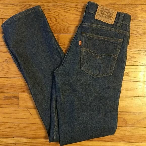 4a00f2288ba Levi's Jeans | Vintage Levis Straight Leg Student Fit Orange Tab ...